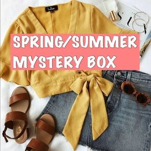 2 LEFT‼️ SPRING SUMMER MYSTERY BOX RESELLERS BOX
